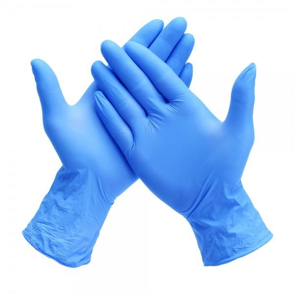 SYSCO LARGE NITRILE GLOVES 100 CT