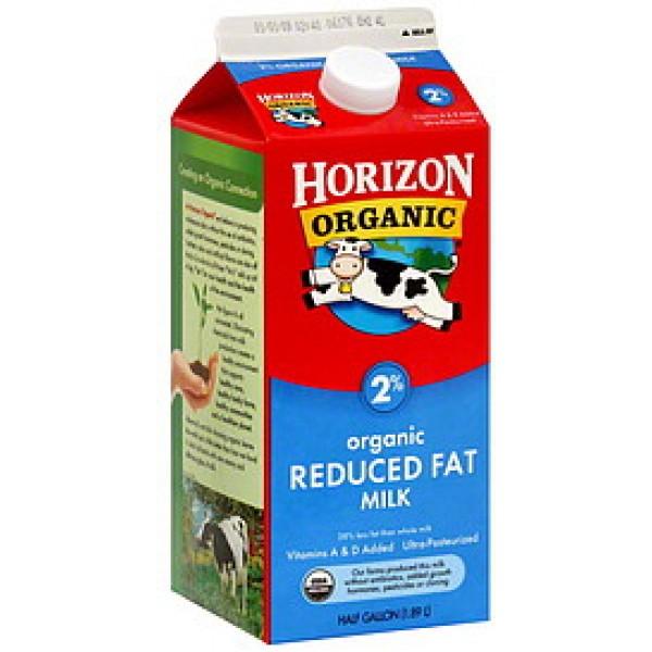 Horizon Horizon Organic Milk 2% Hg