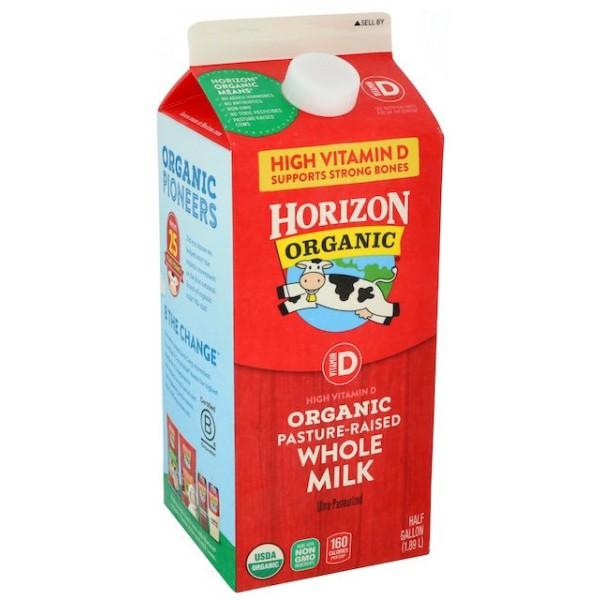 Horizon Horizn Organic Whole Milk Hg