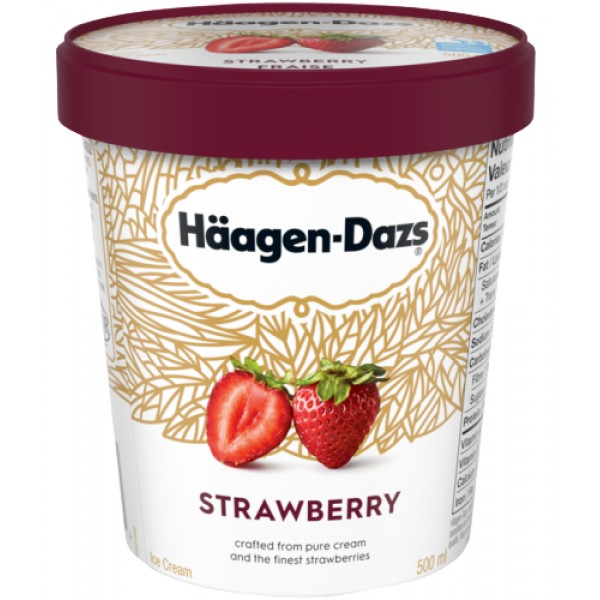 Haagen- Dazs Strawberry 14 oz