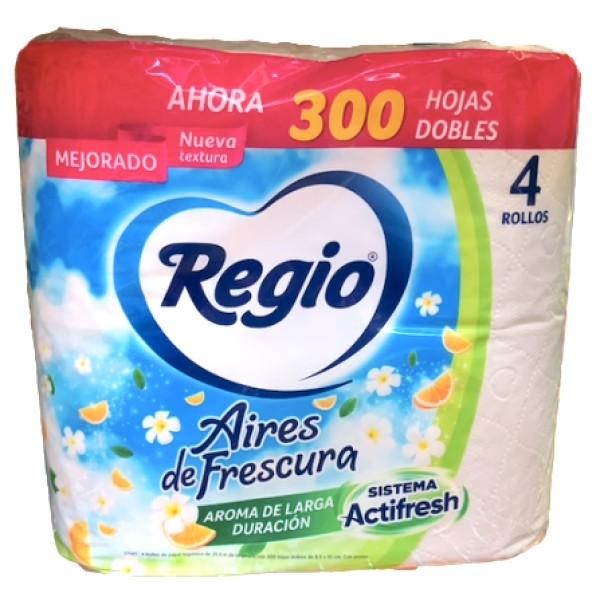 Regio Toilet Paper 4pk