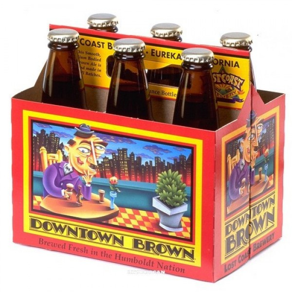 Lost Coast Lost Coast Downtown Brown 6pk