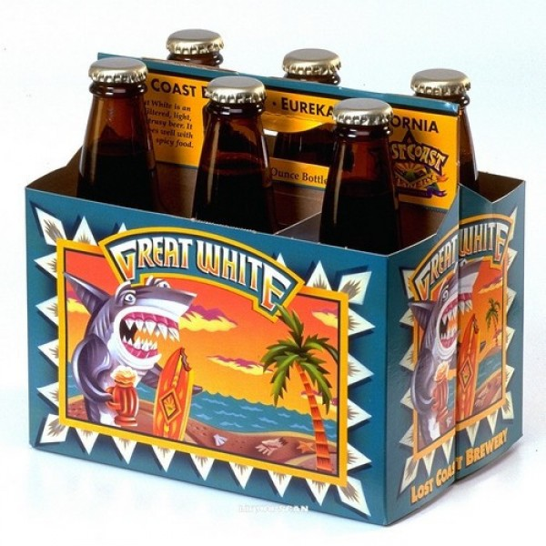 Lost Coast Brewery Lost Coast Great White 6 pk