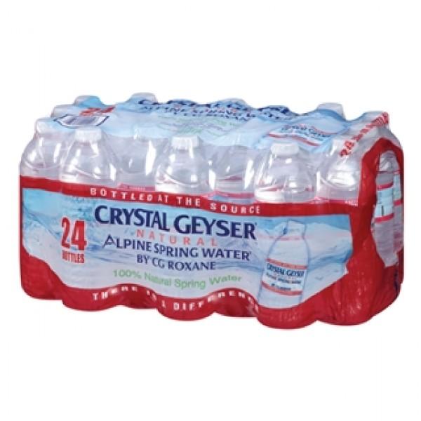 Crystal Geyser 24 pk 16 oz