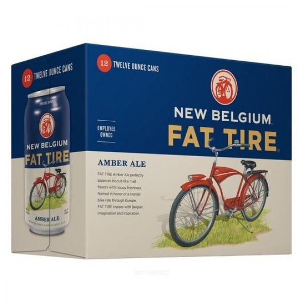 Fat Tire Fat Tire 12pk Can 12 oz