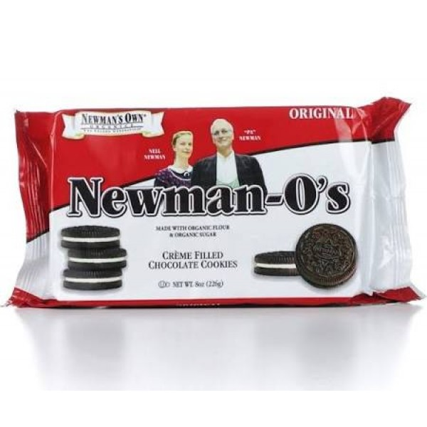 Newman-os Newman-Os Creme Filled Chocolate Cookies 8 oz