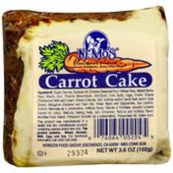 Nemos Nemos Cake Carrot Square 3.5 oz
