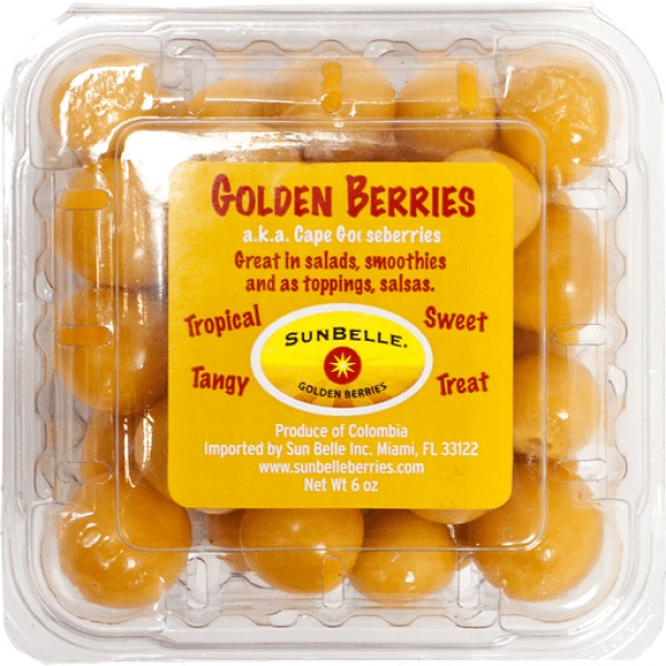 Sunbelle Golden Berries 6oz