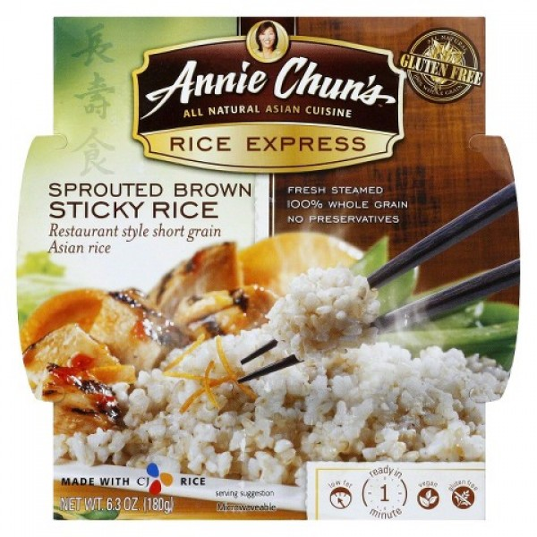 Annie Chuns Annie Chuns Rice Express Sprouted Brown Rice 6.3 oz
