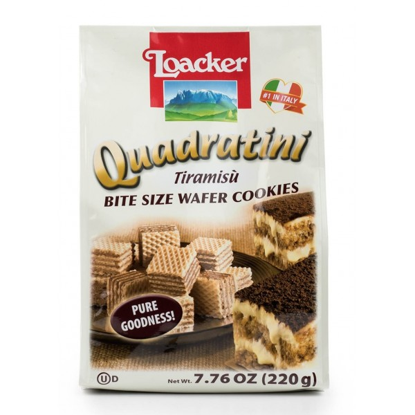 Quadratini Tiramisu 7.76 oz