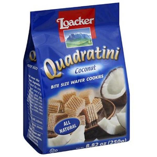 Quadrtni Quadratini Coconut Wafer Bites 8.82 oz