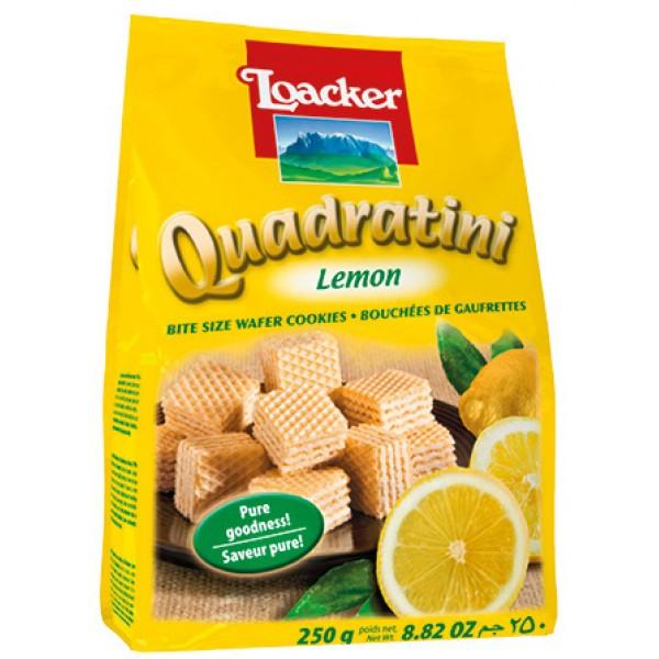 Quadrtni Quadratini Lemon Wafer Bites 10.58 oz