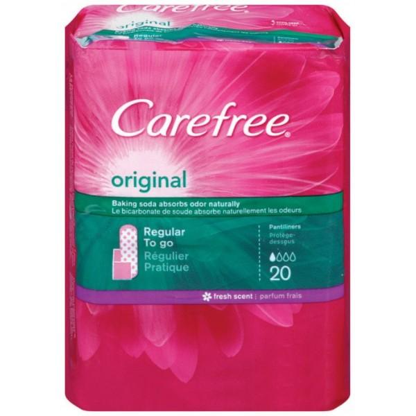 Carefree Carefree Original Pantiliners 20 ct