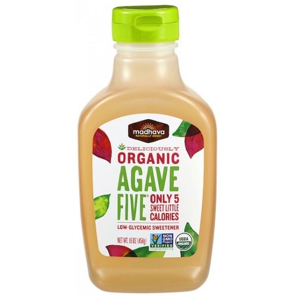 Madhava  Organic Agave Five 16oz