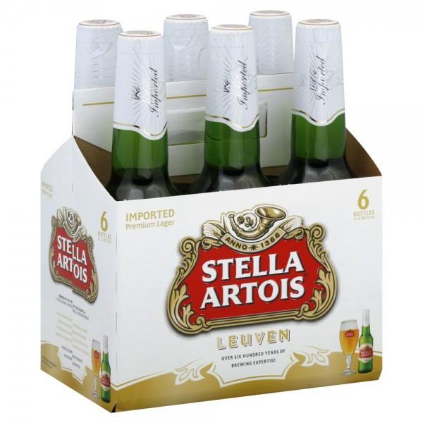 Stella Artois Stella Artois bottle 6 pk