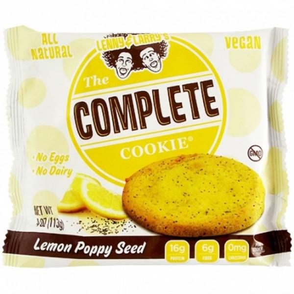 Lenny&Larrys Lenny&Larrys Lemon Poppy Seed Cookie 4 oz