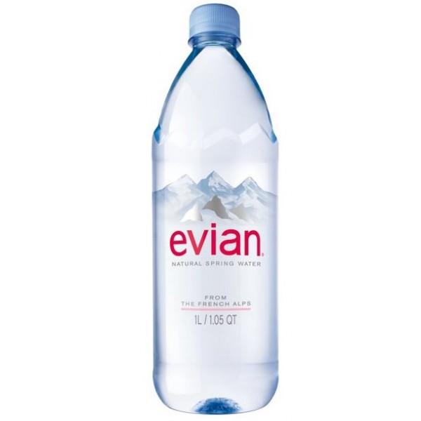 Evian Evian Spring Water 1lit