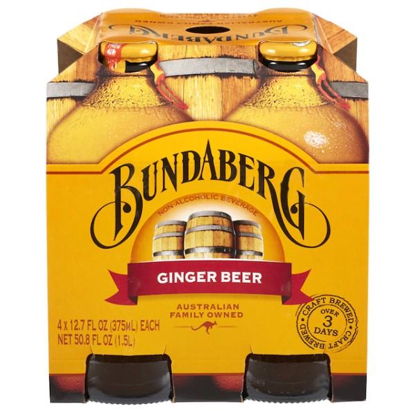 Bundaberg Ginger beer 4pk