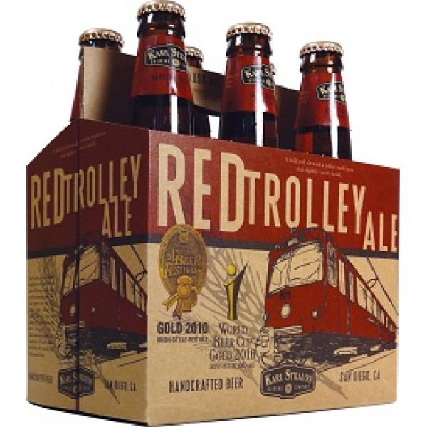 Red Trolley Ale 6 pk
