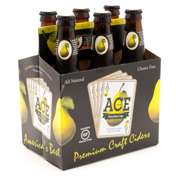 Ace Fermented Perry Cider 6 pk 12 oz