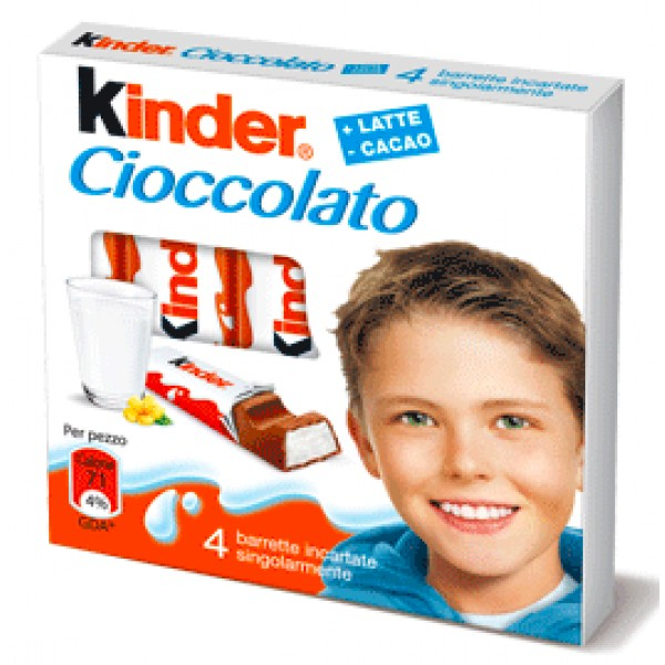 Kinder Chocolate 4 ct