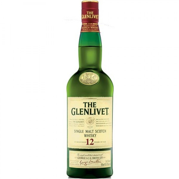 The Glenlivet The Glenlivet Scotch 12 Yrs 750 ml