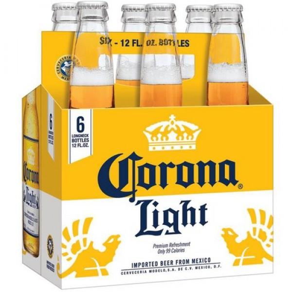 Corona Light Corona Light 6pk btls 12 oz