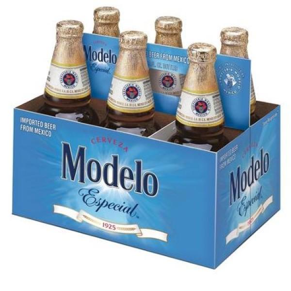 Modelo Especial  Cerveza Modelo Especial 6pk