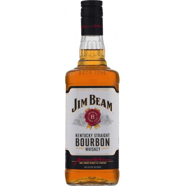 Jim Beam Jim Beam Bourbon Whiskey 750 ml