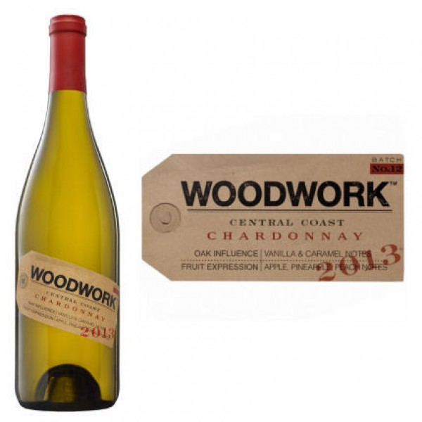 Woodwork Woodwork Central Coast Chardonnay 750 ml