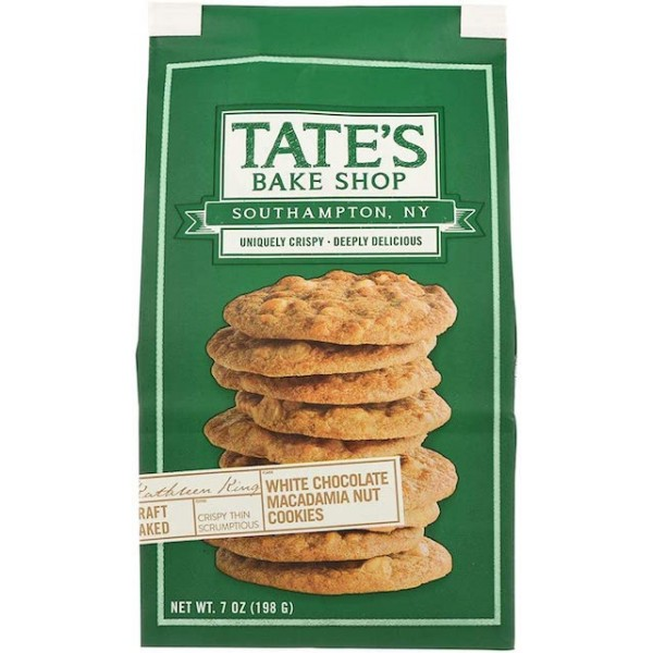 Tates Cookies Macademia Nuts 7 oz