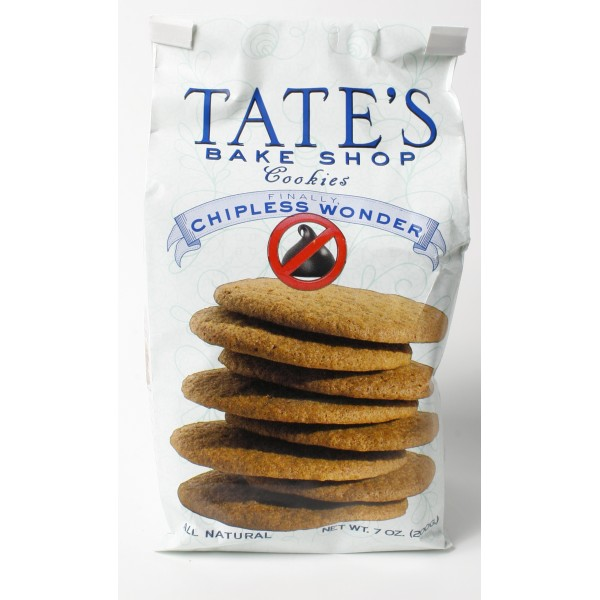 Tates Tates Cookies Chipless Wonder 7 oz