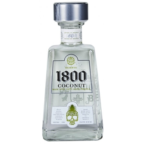 1800 1800 Coconut Silver Tequila