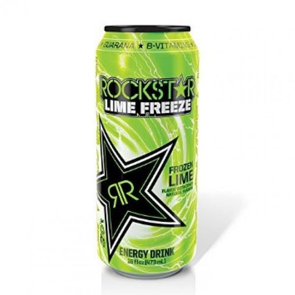 Rockstar Rockstar Lime 16 oz