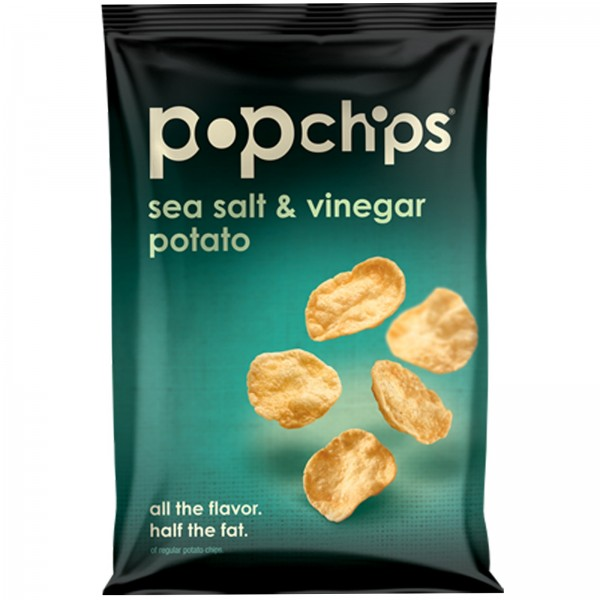 Pop Chips Pop Chips Sea Salt & Vinegar Potato 3.5 oz