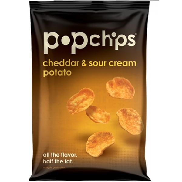 Pop Chips Pop Chips Cheddar & Sour Cream Potato