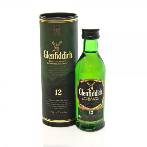 Glenfiddich Glenfiddich 12 Yrs 50 ml