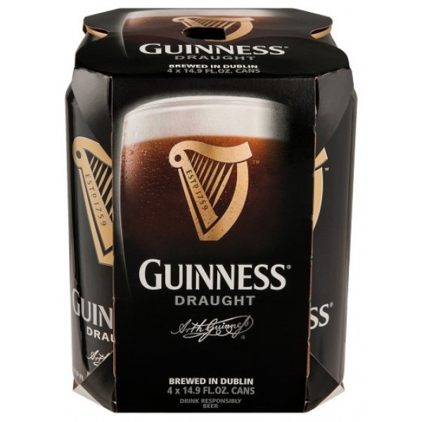 Guinness Guinness Draught 4 cans