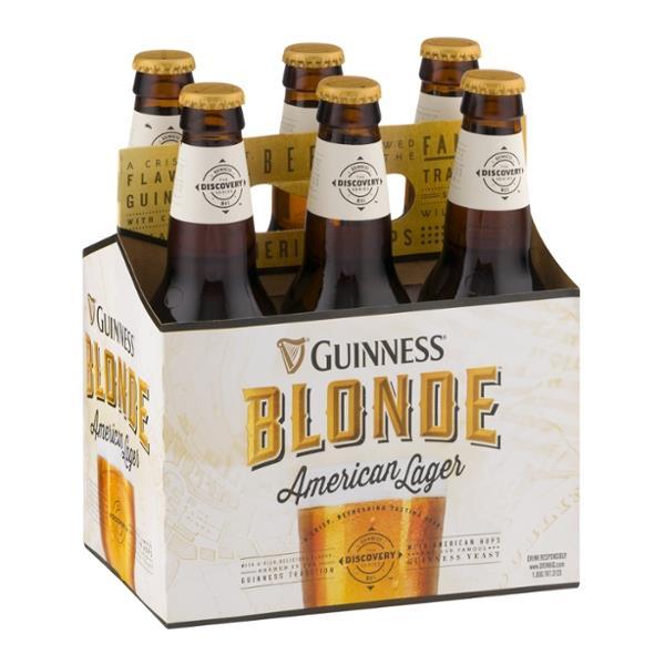Guinness Guinness Blonde American Lager 6 pk