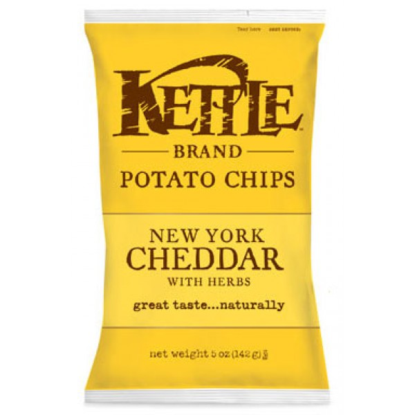 Kettle Kettle Cheddar Chips 5 oz