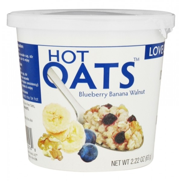 Love Grown Foods Love Grown Foods Hot Oats Blueberry Banana Walnut 2.22 oz