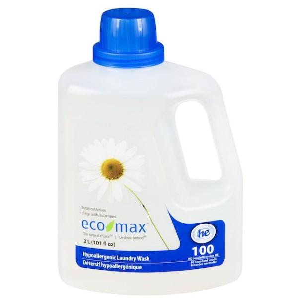 Eco-max Hypollergenic Laundry Wash 101 Fl Oz
