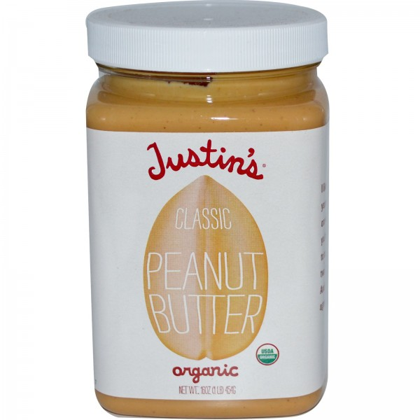 Justins Justins All Natural Peanut Butter 16 oz