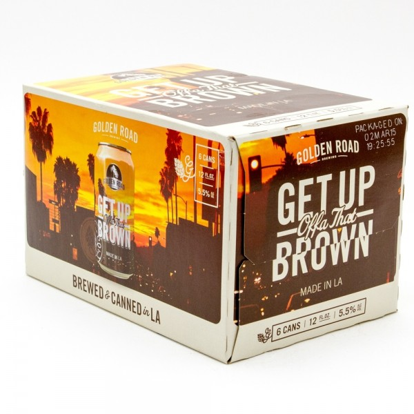 Golden Road Golden Road Get Up Offa The brown 6pk 12 oz