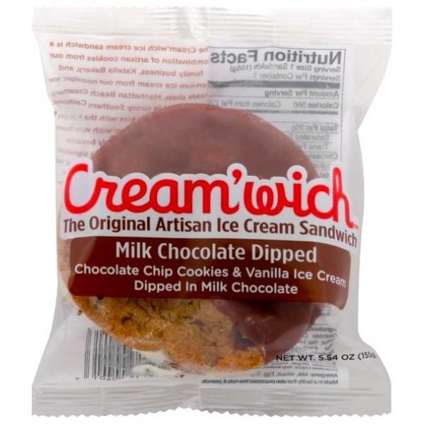Creamwich Milk Chocolate Dipped 5.5 oz
