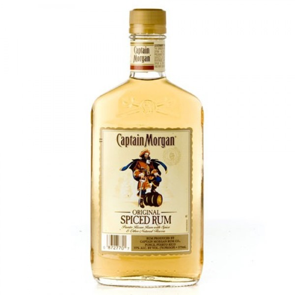 Captain Morgan Captain Morgan Spiced Rum 375 ml