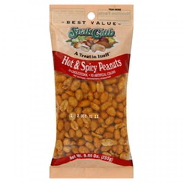 Snak Snak Club Hot n Spicy Peanuts 9 oz