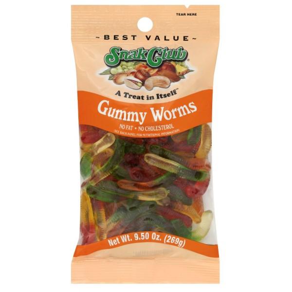 Snak Club Snak Club Gummy Worms 9.5 oz