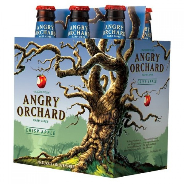Angry Orchard Angry Orchard Crisp Apple 6 pk btl 12 oz