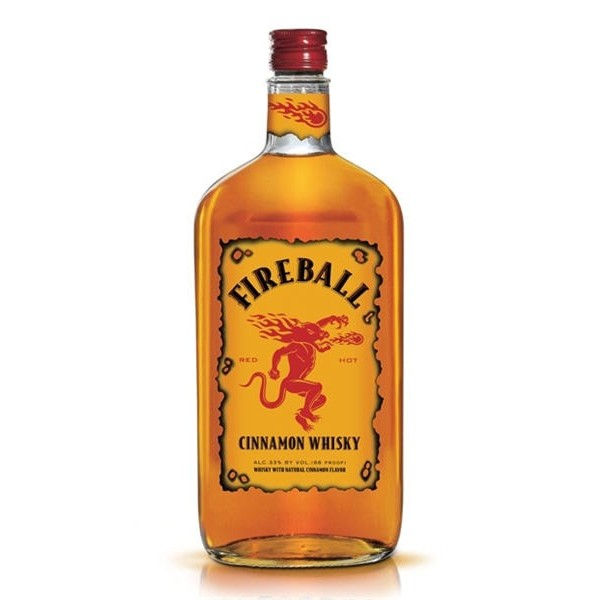 Fireball Fireball Cinnamon  Whiskey 750 ml